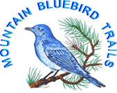 Mountain Bluebird Trails Logo